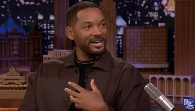 Will Smith on the Tonight Show (Credit: NBC)