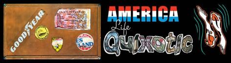 America... Life Quixotic Bumper Sticker