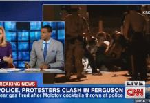 CNN Anchor Rosemary Church Suggest Using Water Cannons in Ferguson