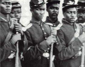 Black soldiers regiment