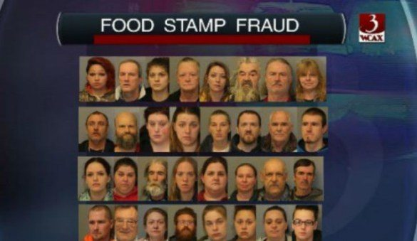 White Food Stamp Fraud