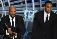 Common & John Legend Oscar Speech Calls Out Racial Inequalities In America & Makes Slavery Reference (VIDEO)