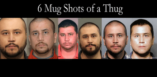 Who Is The Thug? The 6 Mug Shots of George Zimmerman.