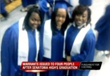 Four People Arrested For Cheering At High School Graduation, Charged With Disturbing The Peace