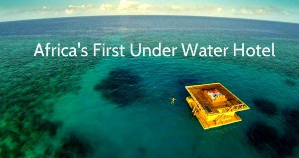 AMAZING Africas First Underwater Hotel Resort Is Off The Coast Of Zanzibar In Tanzania