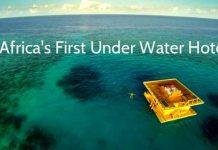 AMAZING: Africa's First Underwater Hotel, Resort Is Off The Coast of Zanzibar in Tanzania