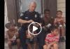 Good Cop Alert: Cop Caught Feeding Kids & Being A Good Servant