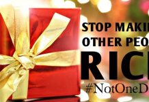 12 Ways To Divest From Reckless Christmas Spending & Start Building Your Family's Wealth | #NotOneDime