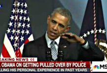 Obama Tells Room Full of Cops He Has Been Pulled Over For 'Driving While Black' | Can You Relate?