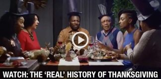 "WATCH: Black Family Discuss the ""REAL"" History Of Thanksgiving"