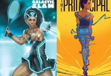 Comic Book Heroines Misty Copeland and Serena Williams! 3