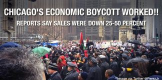 Chicago's Economic Boycott WORKED!! Magnificent Mile Protests Cost Stores Up to 50% Of Sales