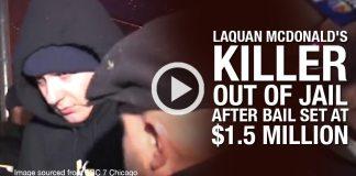 Laquan McDonald's Killer Out Of Jail After Bail Set At $1.5 Million!