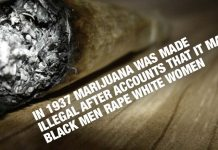 Did Your Know In 1937 Marijuana Was Made Illegal After Accounts That It Made Black Men Rape White Women