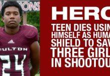 Hero Teen Dies Using Himself As Human Shield To Save Three Girls In Shootout