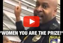 """Women You Are The Prize!"" - Truth laid down by College Police Officer (VIDEO)"