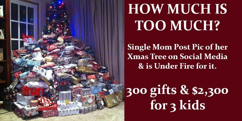 Single Mom Buys 2300 Worth Of X Mas Gifts For Her 3 Children Is