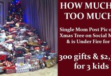 Single Mom Buys $2,300 Worth of X-mas Gifts for Her 3 Children & Is Under Fire | How Much is Too Much?