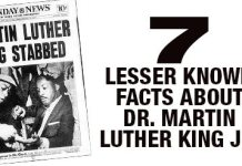 7 Lesser Known Facts About Dr. Martin Luther King Jr.
