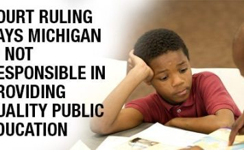 Court Ruling Says Michigan Is Not Responsible In Providing Quality Public Education