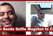 "Vanity Overload: Wanted Ohio Man Sends ""Selfie"" To Police for a Better Mugshot & Gets Arrested"