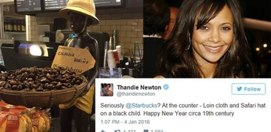 Thandie Newton Calls Out Starbucks for Their Racist Display With A Powerful Tweet 2
