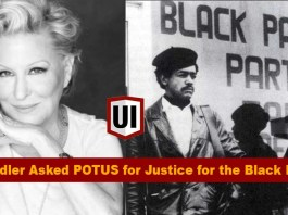 Bette Midler Asked President Obama to Pardon All the Black Panthers Still incarcerated 1