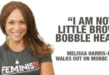 """""""I am not a Little Brown Bobble Head"""" - Melissa Harris-Perry Walks Out on MSNBC Show"""