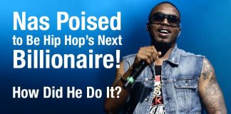 Rapper Nas On The Verge Of Becoming A Billionaire And Guess How He Is Doing It?
