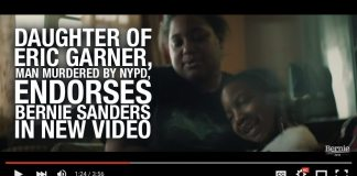 Daughter of Eric Garner, Man Murdered By NYPD, Endorses Bernie Sanders In New Campaign Video