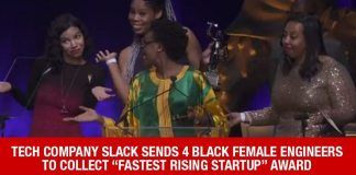 "WORD: 4 Black Woman Engineers Accept ""Fastest Rising Startup"" Award For Tech Company Slack"