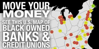 MOVE YOUR MONEY: U.S. Map Of Black Banks & Credit Unions