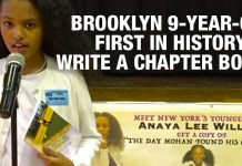 Brooklyn 9-Year-Old First In History To Write A Chapter Book!