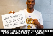 Kobe Bryant Tells Fans How They Could See His LAST NBA GAME For $10.... [VIDEO]