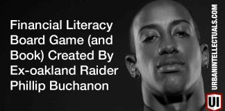 Financial Literacy Board Game (and Book) Created By Ex-NFL & Oakland Raider Phillip Buchanon