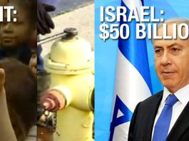 WTF: No Money To Fix Flint's Poisoned Water BUT $50 Billion For Israel!!!