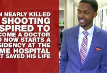 Man Nearly Killed in Shooting Inspired To Become A Doctor and Now Starts A Residency At The Same Hospital That Saved His Life