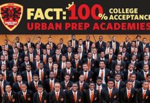 7th Straight Year: 100% of Chicago Urban Prep Students Are Accepted to a Four-Year College or University