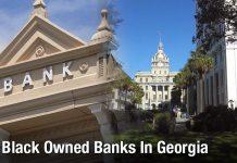 Black Owned Banks In Georgia