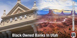 Black Owned Banks In Utah