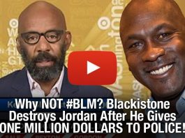 Why NOT #BLM? Blackistone Destroys Jordan After He Gives 1 MILLION To Police!