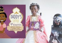 7-Year-Old Writes A Book To Show Black Girls Can Be Princesses Too!