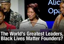 The World's Greatest Leaders, Black Lives Matter Founders?