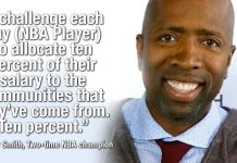 Kenny Smith Challenges NBA Players To Put 10% Of Their Salary Back Into Their Communities