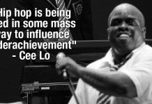 """Cee Lo Says """"Hip hop is being used in some mass way to influence underachievement"""""""