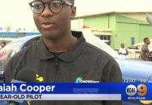 16-year-old Isaiah Cooper From California Breaks Aviation World Record 2