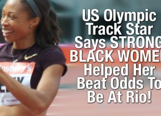 US Olympic Track Star Says STRONG BLACK WOMEN Helped Her Beat Odds To Be At Rio!