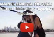 AMAZING MARRIAGE PROPOSAL: Girlfriend Thinks She Is There for A Photoshoot!