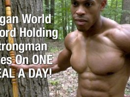 Vegan World Record Holding Strongman Lives On One Meal A Day! LEARN MORE HERE... 3
