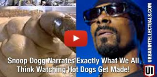 Snoop Dogg Narrates Exactly What We All Think Watching Hot Dogs Get Made!